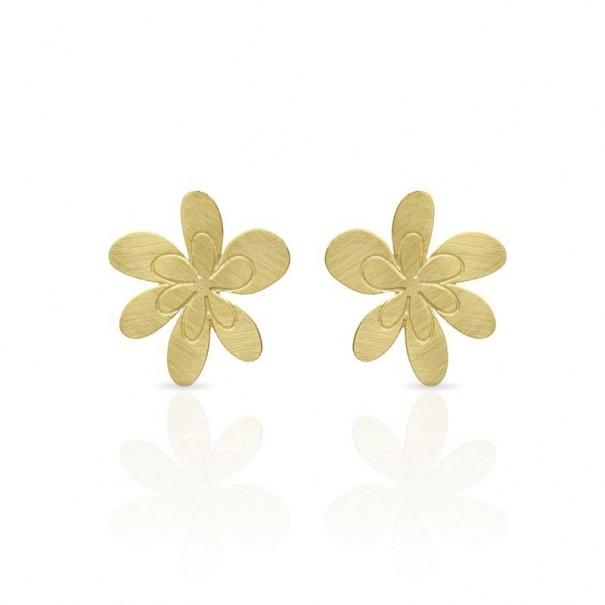 Boucles d'oreilles clous dorées RAS Comtesse