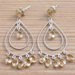 Grandes boucles pendantes...