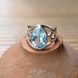 Bague massive anneau large...