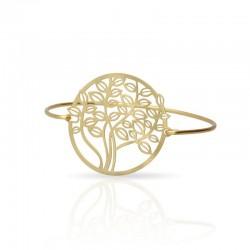 bracelet doré arbre de vie