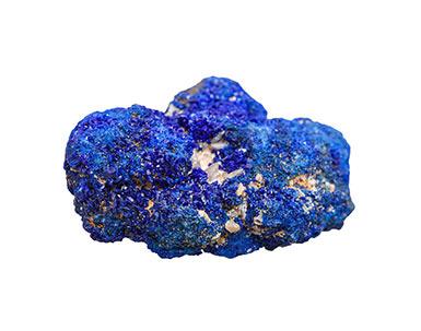 pierre brute Azurite