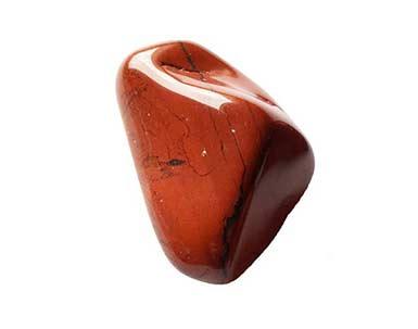 pierre brute de Jaspe rouge